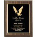 Value Priced Walnut Finish Plaque